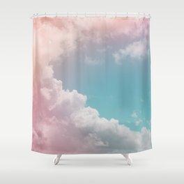 Pastel Clouds over Galveston Shower Curtain