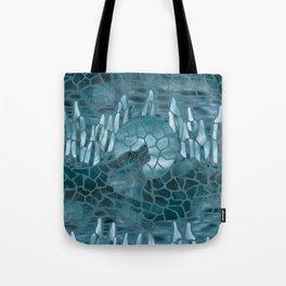 Moonlight Story (Teal) Tote Bag