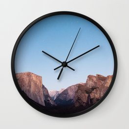 Yosemite - Stars Wall Clock