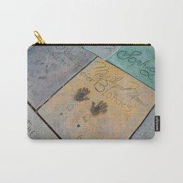 Marilyn Hand Prints in Hollywood Carry-All Pouch