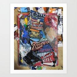 fresno st. of mind Art Print