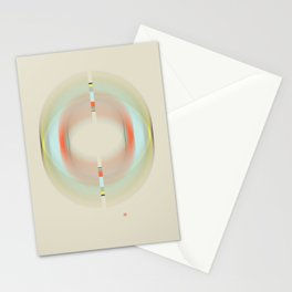 Magnetic Fields (Etude Circulaire n° 5) Stationery Cards