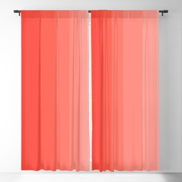 Shades of Living Coral From Hot Tomato Coral to Pale Blush Blackout Curtain