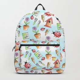 Out in The Garden Pattern Backpack