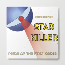 Experience Starkiller Metal Print
