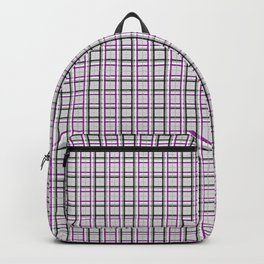 Queer Plaids - Ace Madras Backpack