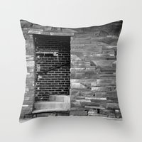 portal Throw Pillows featuring Portal by Elina Cate