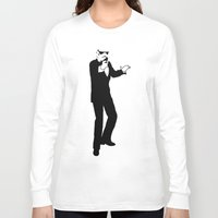 storm trooper Long Sleeve T-shirts featuring Trooper... Storm Trooper 3 by Derek Donovan