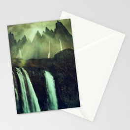 Fantasy Paramount Waterfalls Stationery Cards