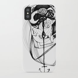 plumb line iPhone Case