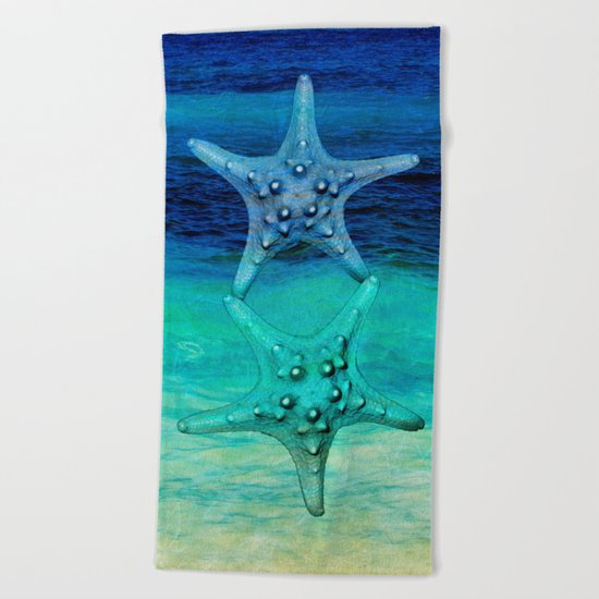 STARS OF THE SEA Beach Towel