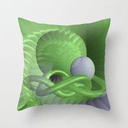illusion - safe Throw Pillow