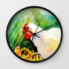 Momma Says Wall Clock