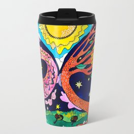 Ich Other Into the Right Direction Travel Mug