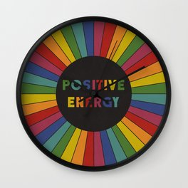 Positive Energy Wall Clock