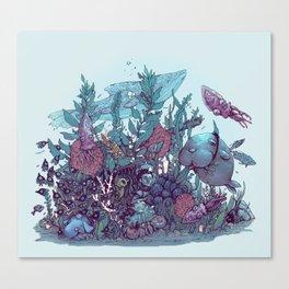 SUNK Canvas Print