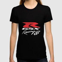 Suzuki Gsxr 600 750 1000 Racing Motorcycle Printed Super Premium Motorcycle T-Shirts T-shirt