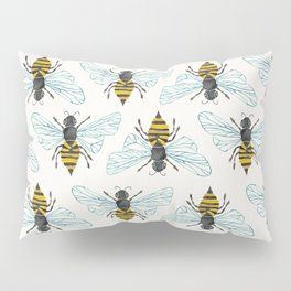 Honey Bee Pillow Sham