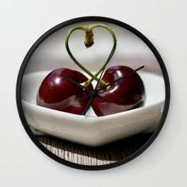 Cherry Wall Clock