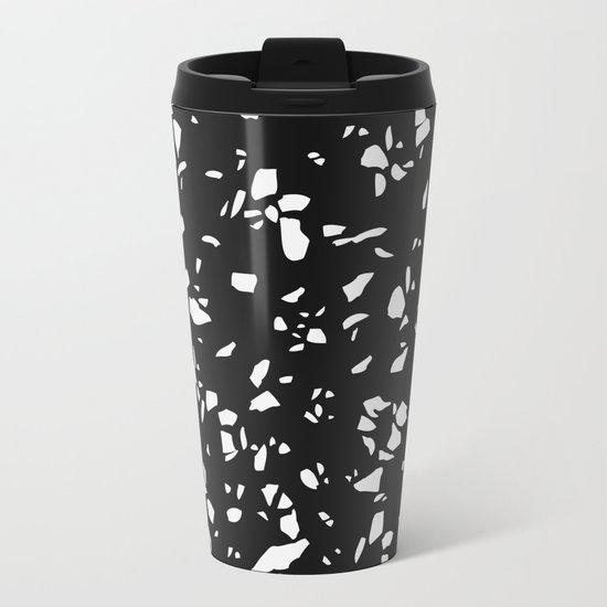 Terrazzo Texture #2 Metal Travel Mug