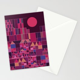 Paul Klee Inspired #2 Stationery Cards