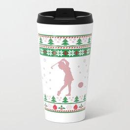 GOLF CHRISTMAS Travel Mug