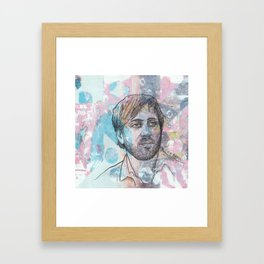 Dan Auerbach - King Of A One Horse Town Framed Art Print