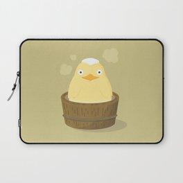 Bird Bath Laptop Sleeve