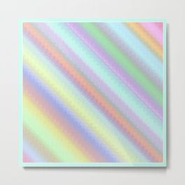 Rainbow colorful background Metal Print
