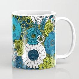 Vintage Florals Chrysanthemum Coffee Mug