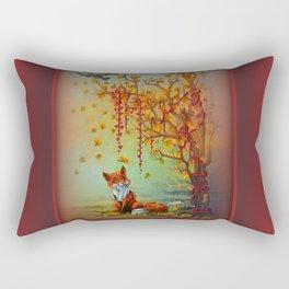 A Little Autumn Mood Rectangular Pillow