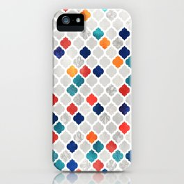 Sea & Spice Moroccan Pattern iPhone Case