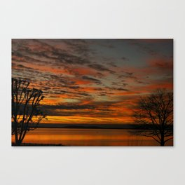 Havre de Grace Sunset Canvas Print