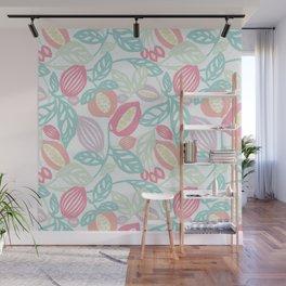 Pastel Fruits Wall Mural