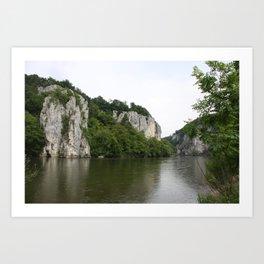 Danebu River Art Print