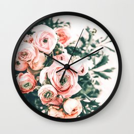 Bouquet Blooming Wall Clock