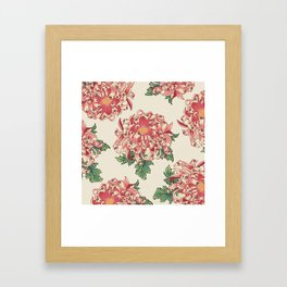 The Chrysanthemum of Pugs Framed Art Print
