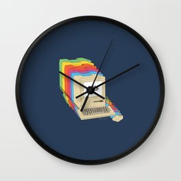 Macintosh Cascade Wall Clock