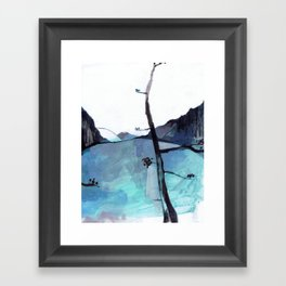 ALASKA SKETCHBOOK Framed Art Print