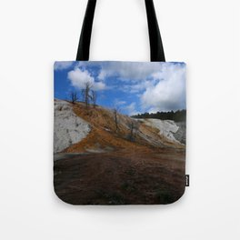 Mammoth Hot Spring Colors Tote Bag