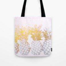 Golden pineapples Tote Bag