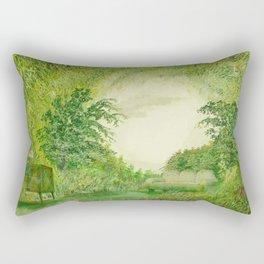 natural room Rectangular Pillow