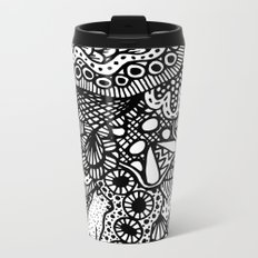 Doodle 13 Metal Travel Mug