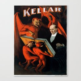 Vintage poster - Kellar the Magician Canvas Print