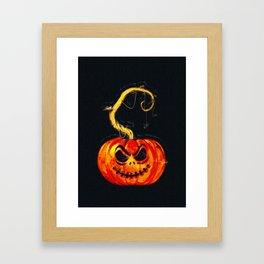 Escape From The Pumpkin Patch Framed Art Print