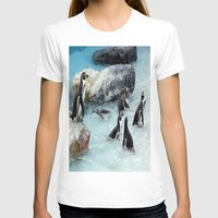 penguins T-shirts featuring Penguins. by paulette hurley