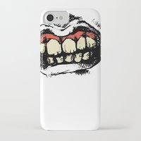 teeth iPhone & iPod Cases featuring TEETH! by Helena Bowie Banshees