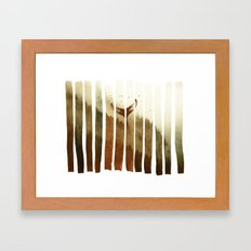 Tail Fin Framed Art Print