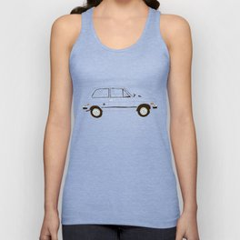 Yugo —The Worst Car in History Unisex Tank Top