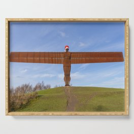 Angel of the North 2 Serving Tray